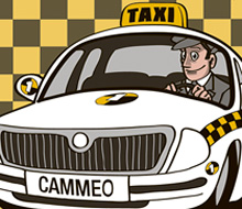 TAXI CAMMEO