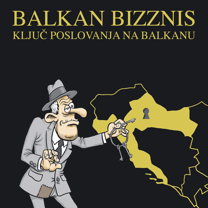 """Naslovnica knjige """"Balkan Bizznis"""""""