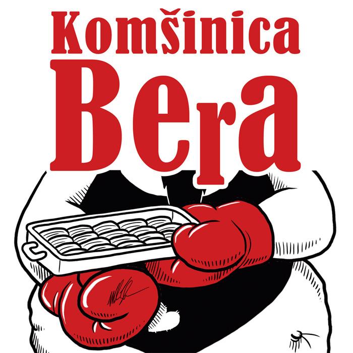 """Naslovnica knjige """"Komšinica Bera"""""""